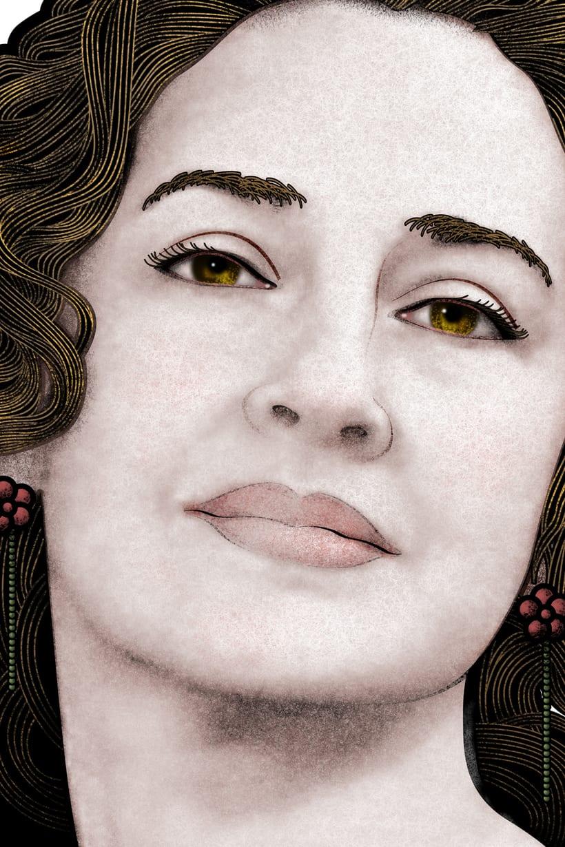 Portrait Lola Montejano 1