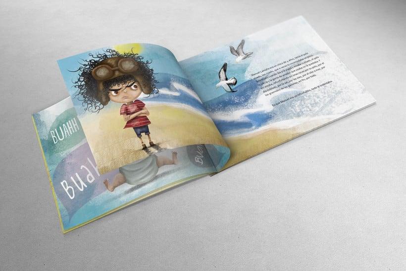 Ilustraciones para libro infantil Manuel Lamaña. -1