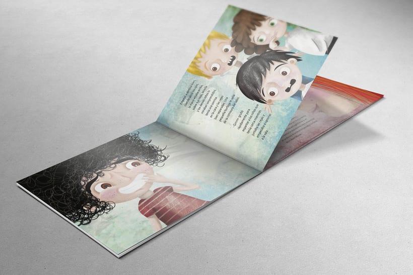 Ilustraciones para libro infantil Manuel Lamaña. 0
