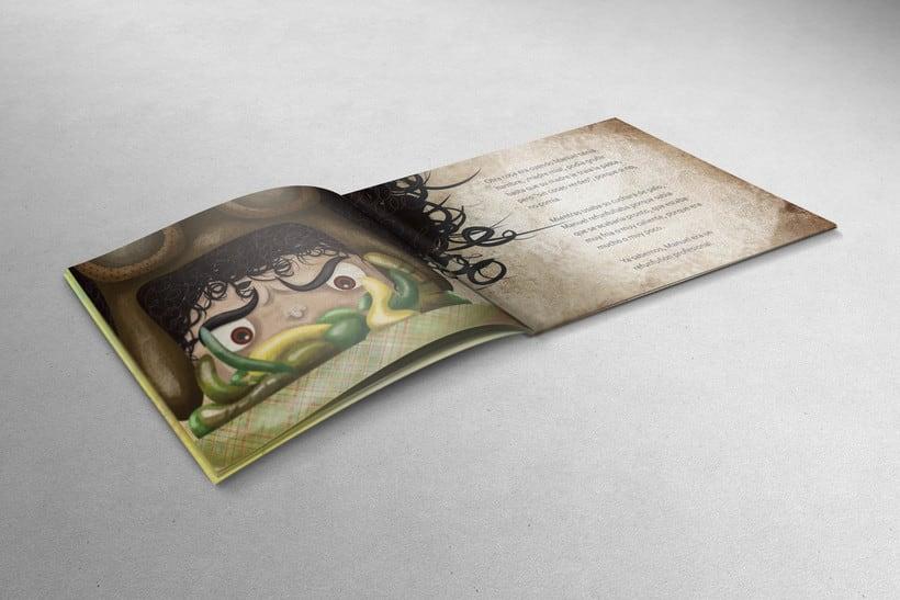 Ilustraciones para libro infantil Manuel Lamaña. 1