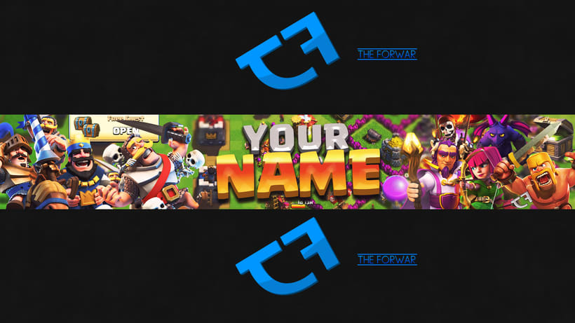 Template para Youtube (Banner y Miniatura) 2