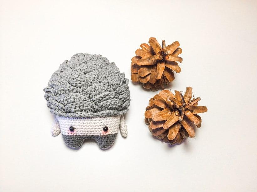 """Nuevo Trío de muñecos crochet amigurumi """"Winter Series"""" 1"""