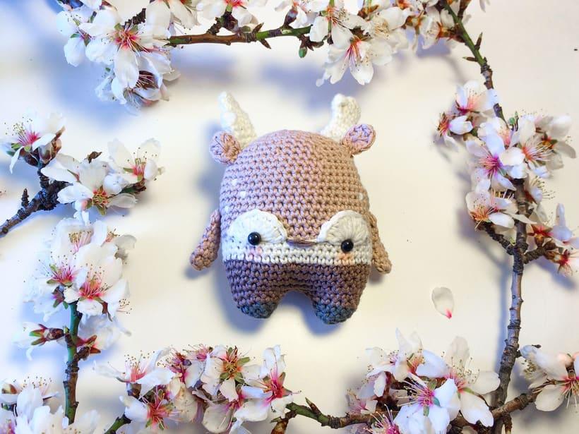 """Nuevo Trío de muñecos crochet amigurumi """"Winter Series"""" 2"""