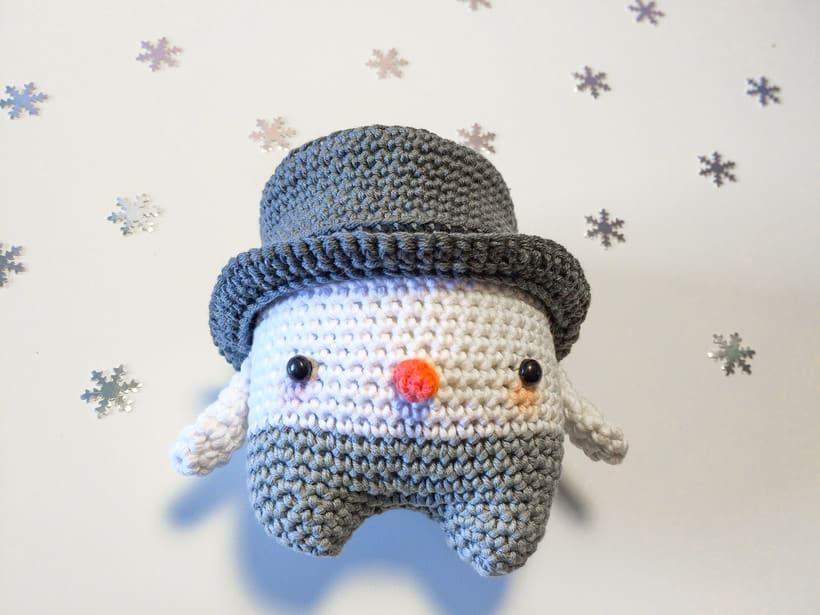"""Nuevo Trío de muñecos crochet amigurumi """"Winter Series"""" 3"""