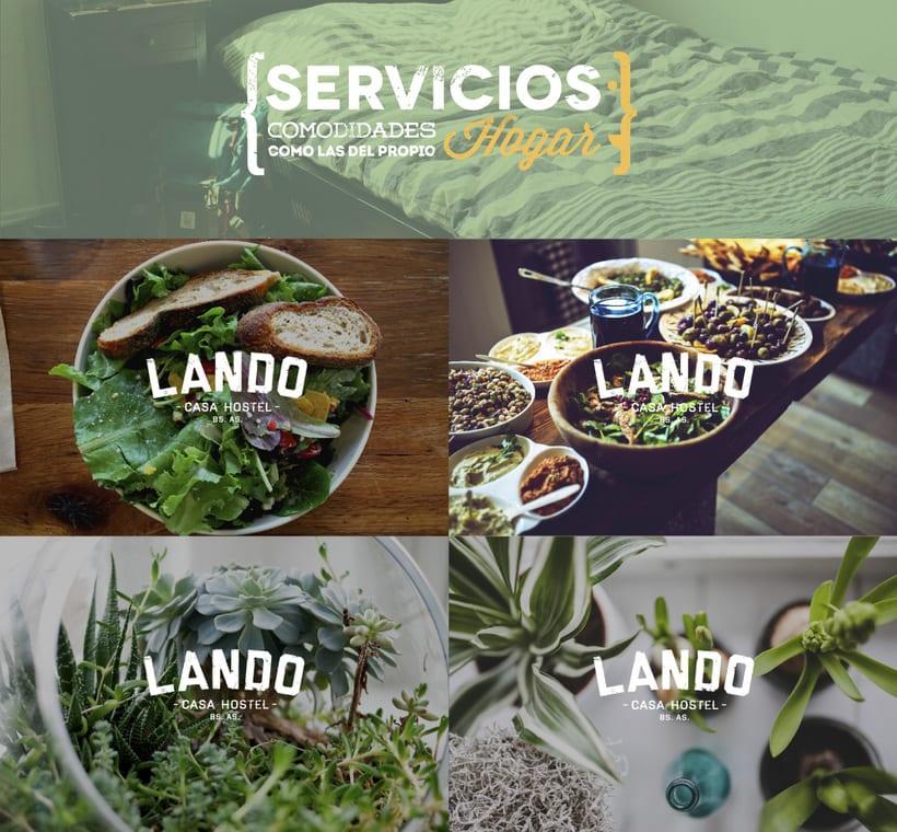 Lando Casa Hostel 1