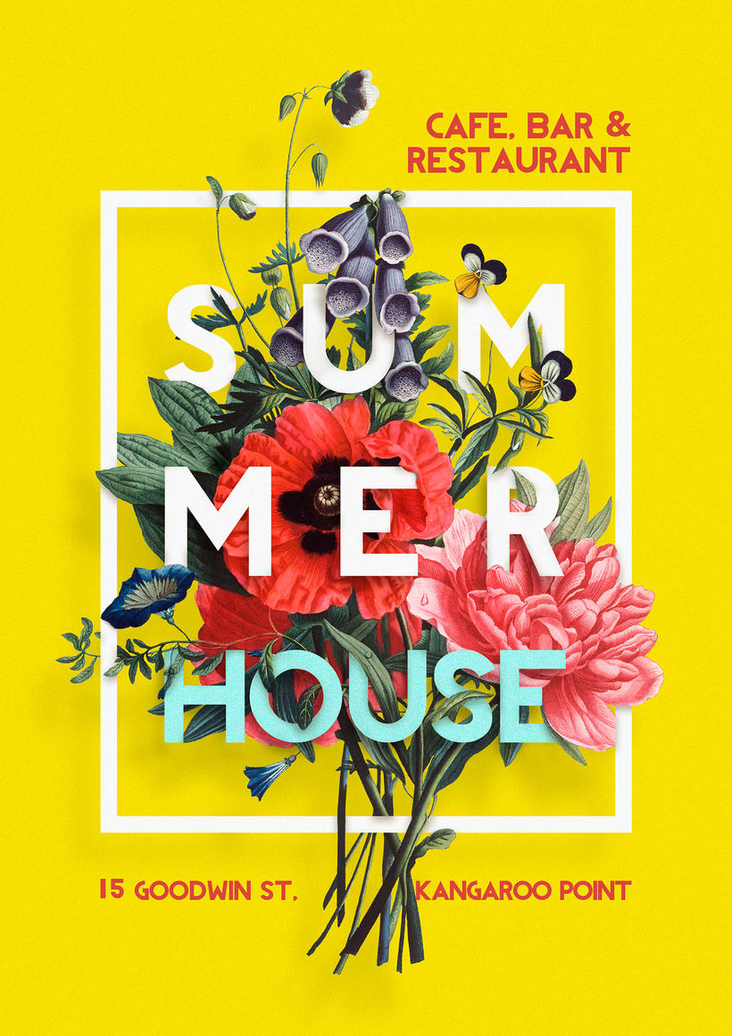 Poster Summer House restaurant -1