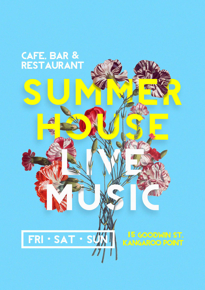 Poster Summer House restaurant 0