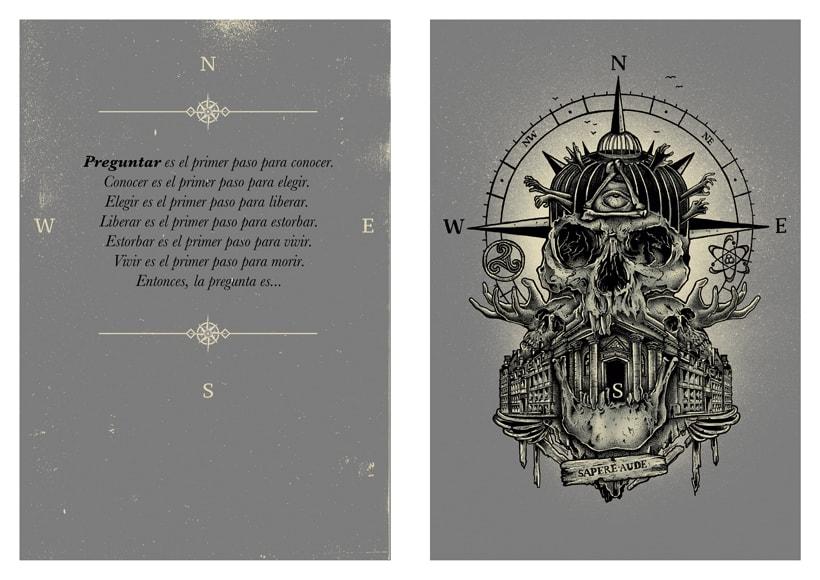 """Fanzine CULO. """"go to skull I"""". Sapere aude. 1"""