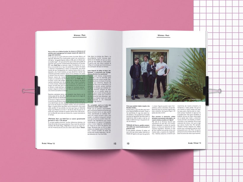 B-side Magazine 1