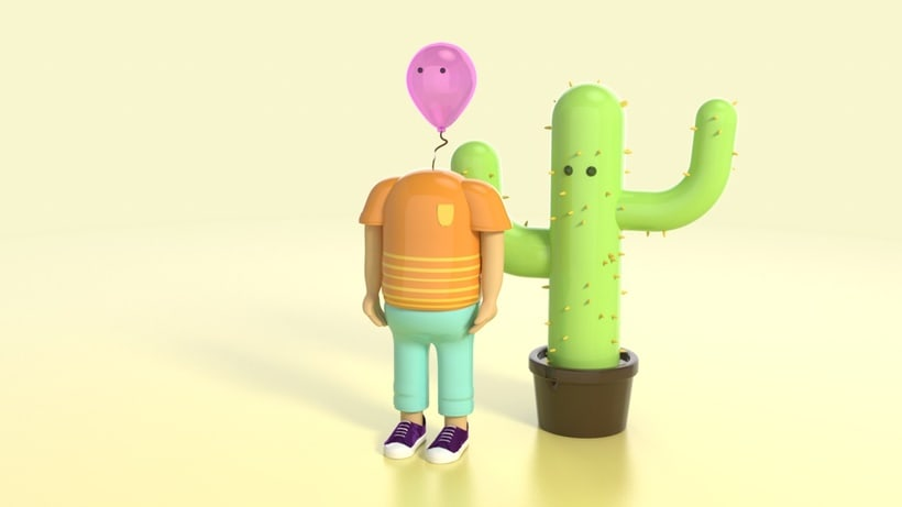 Mi Proyecto del curso: Diseño de personajes en Cinema 4D: del boceto a la impresión 3D 0