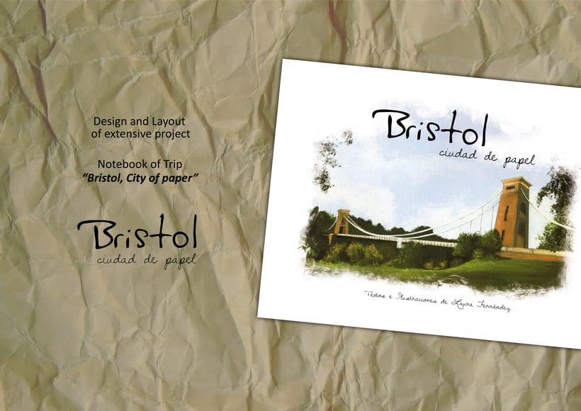 """ilustraciones: """"Bristol, Ciudad de papel"""" 0"""