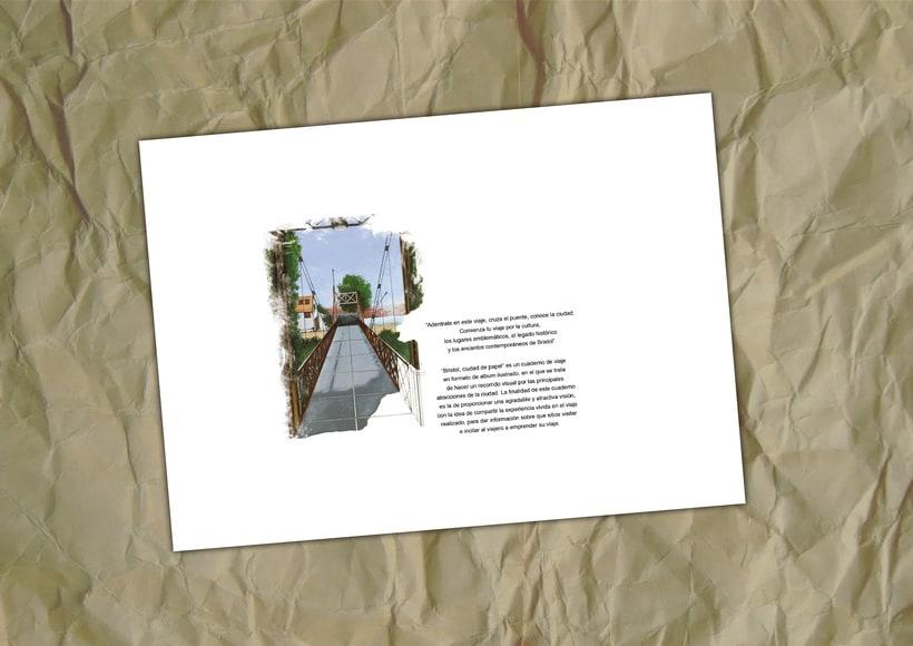 """ilustraciones: """"Bristol, Ciudad de papel"""" 1"""