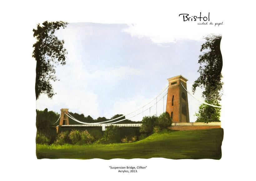 """ilustraciones: """"Bristol, Ciudad de papel"""" 2"""