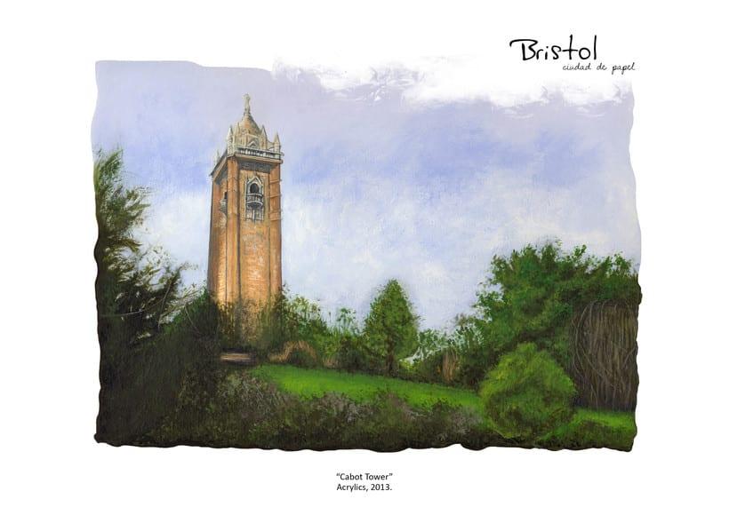"""ilustraciones: """"Bristol, Ciudad de papel"""" 3"""