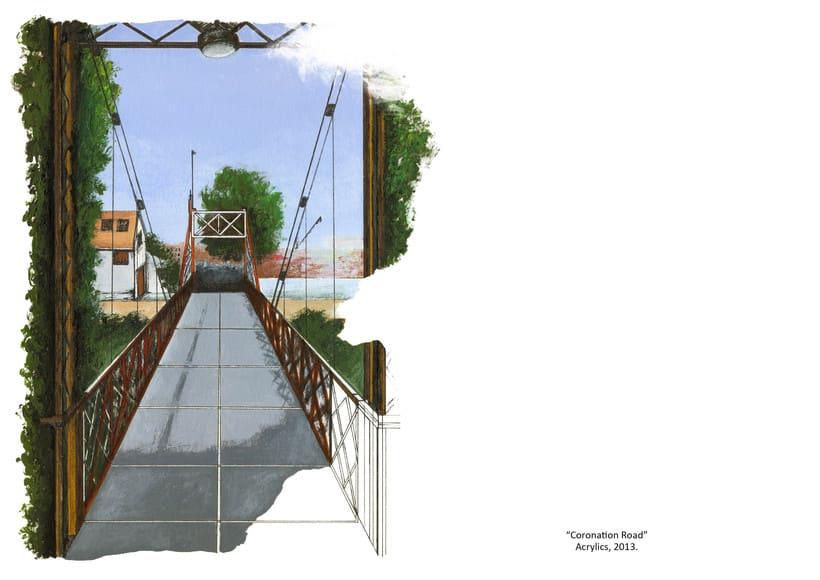 """ilustraciones: """"Bristol, Ciudad de papel"""" 4"""