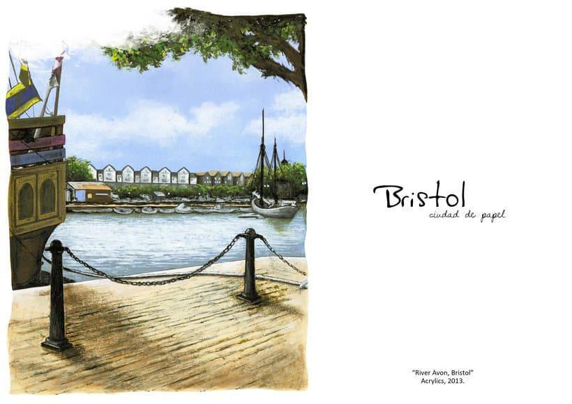"""ilustraciones: """"Bristol, Ciudad de papel"""" 6"""