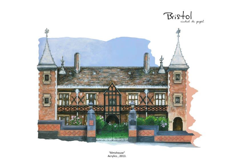 """ilustraciones: """"Bristol, Ciudad de papel"""" 8"""