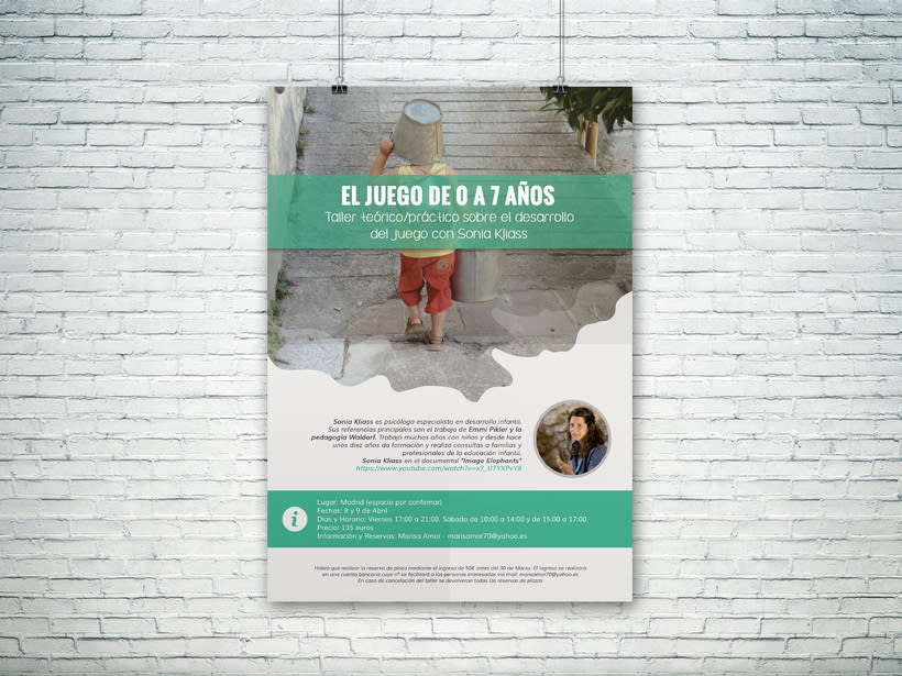 Taller teórico/práctico sobre el desarrollo del juego con Sonia Kliass, organizado por Marisa Amor -1