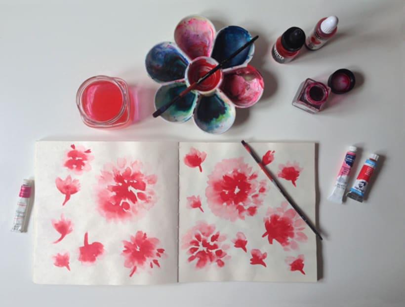 Diseño de patrones para pañuelos de seda 0