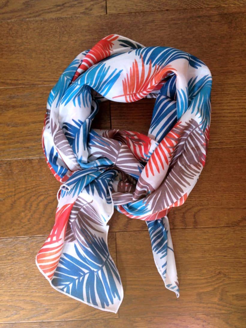 Diseño de patrones para pañuelos de seda 2