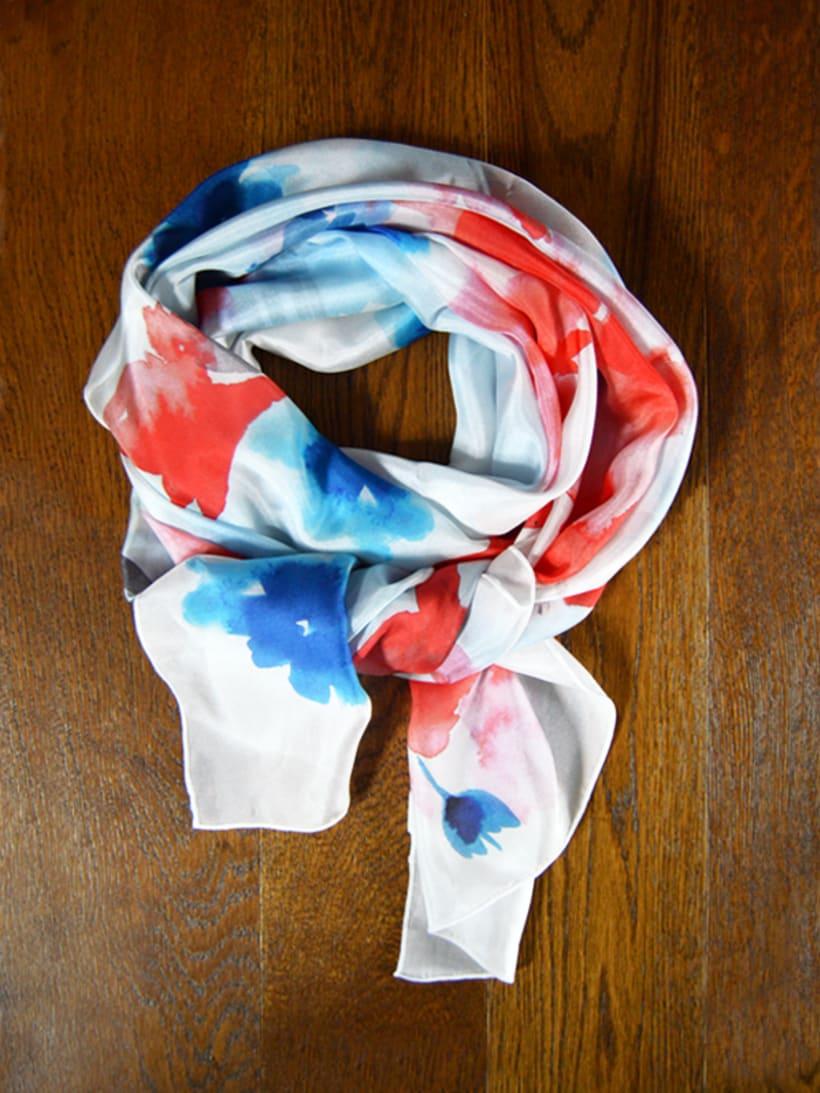 Diseño de patrones para pañuelos de seda 3