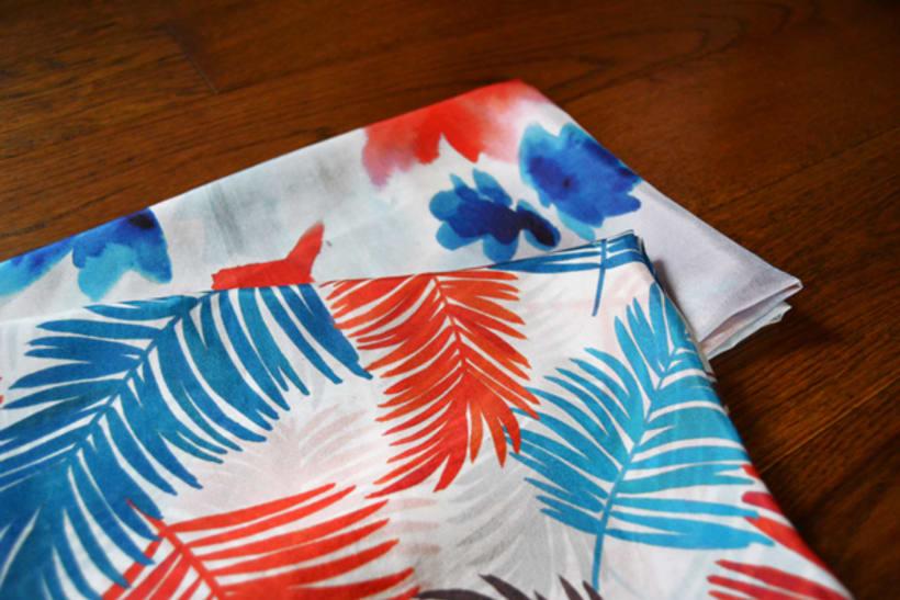 Diseño de patrones para pañuelos de seda 4