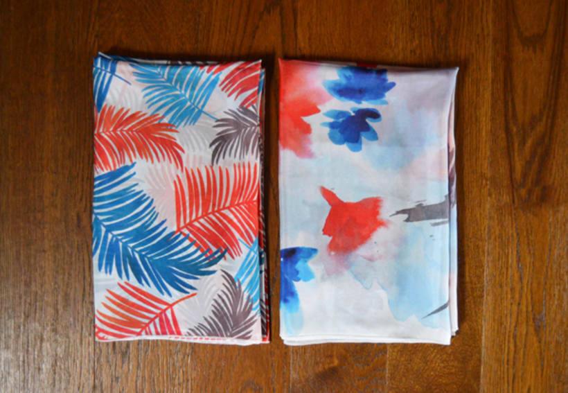 Diseño de patrones para pañuelos de seda 5
