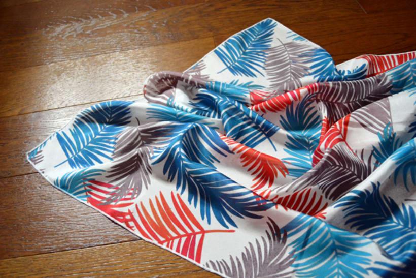 Diseño de patrones para pañuelos de seda 6