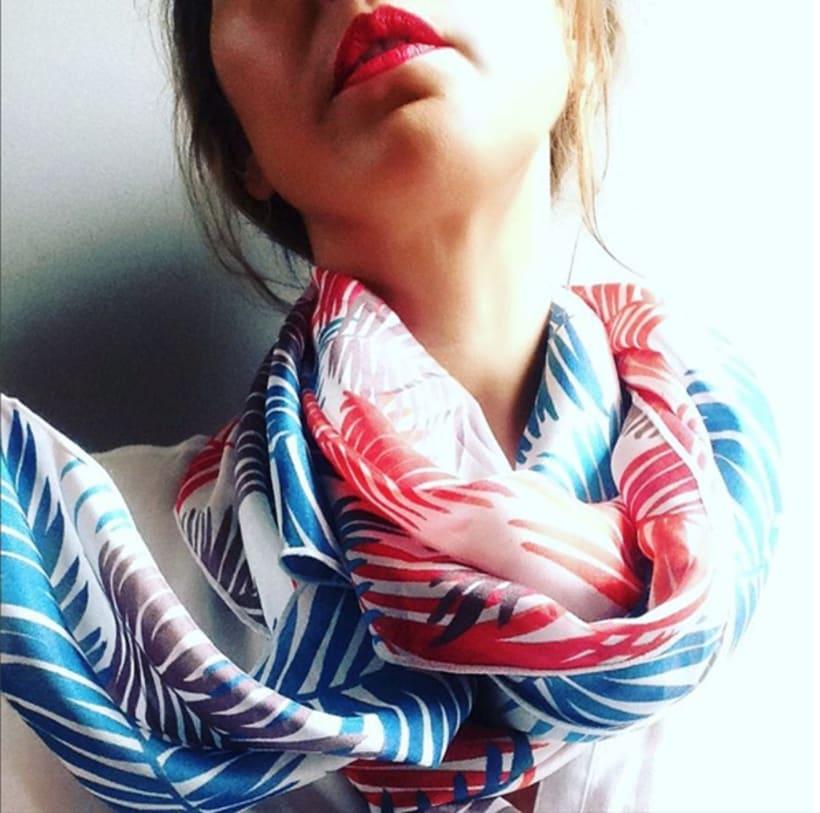 Diseño de patrones para pañuelos de seda 9