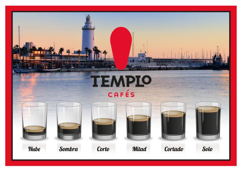 Cuadro tipos de cafés en Málaga -1