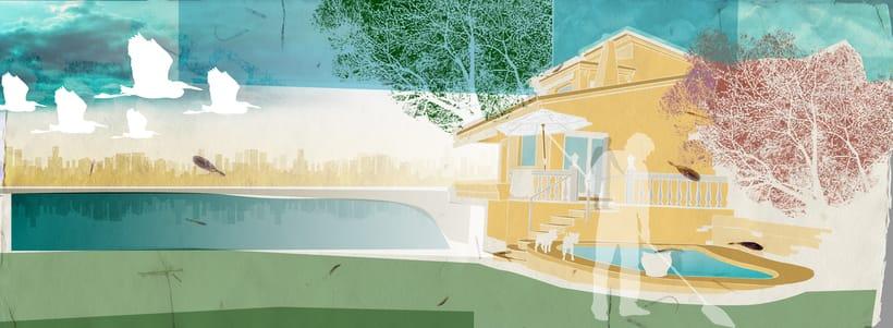 Collage gráfico sobre mi casa -1