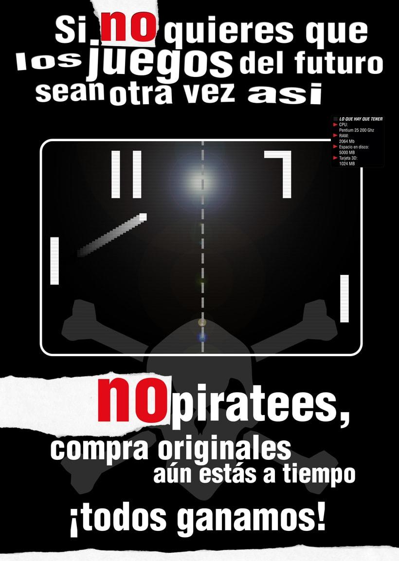 Cartel finalista concurso Micromania 2006 -1