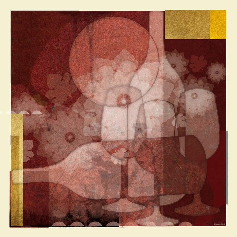 Cuadro para exposición de Vinos 2003 (tinta fina) -1