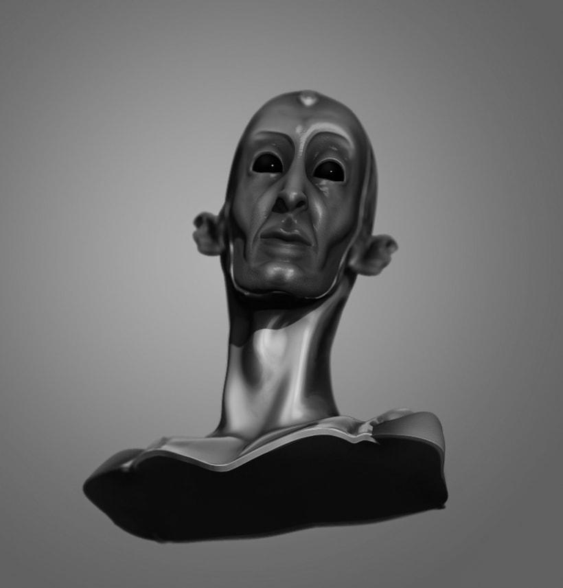 Modelado de personajes en 3D.  3