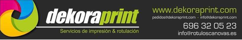 Impresión digital de vinilos y lonas gran formato, cartelería, photocalls para fiestas, fotos en lienzo... 0