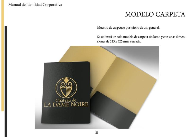 Manual Identidad Corporativa Champagne 9
