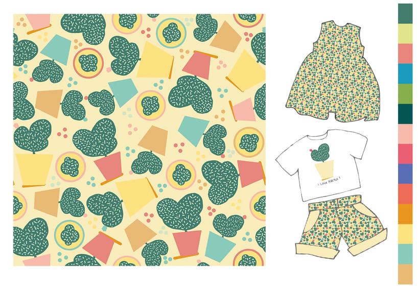Colección estampados para ropa de niños 2