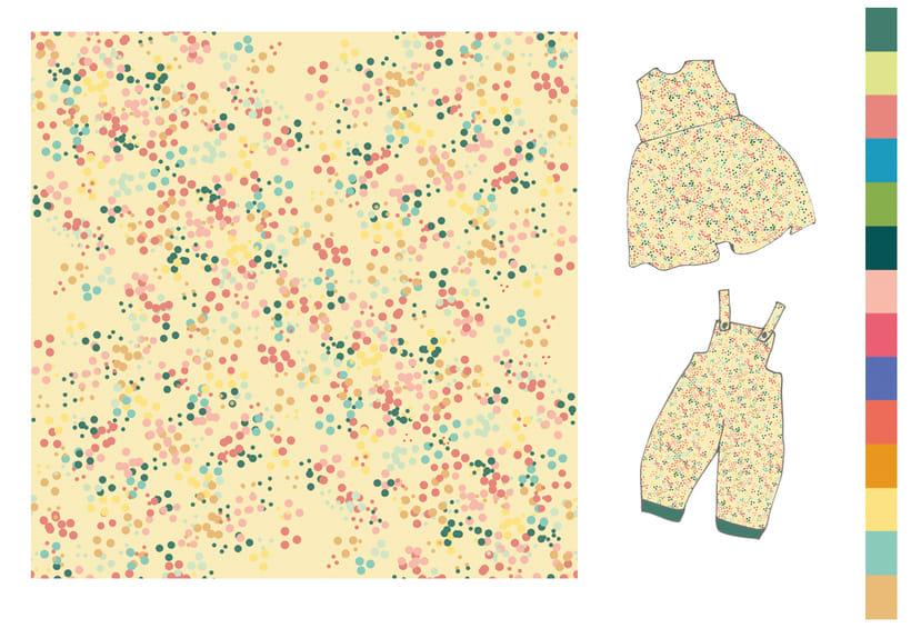 Colección estampados para ropa de niños 3