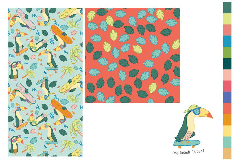 Colección estampados para ropa de niños 5