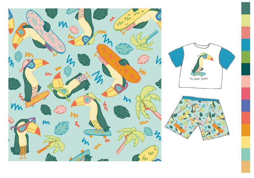 Colección estampados para ropa de niños 6