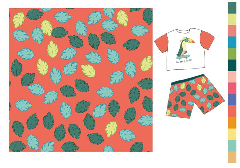 Colección estampados para ropa de niños 7