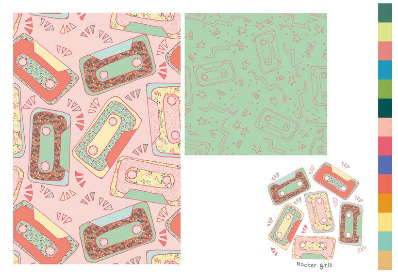 Colección estampados para ropa de niños 9