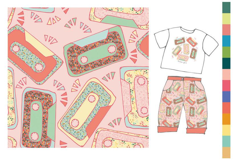 Colección estampados para ropa de niños 10