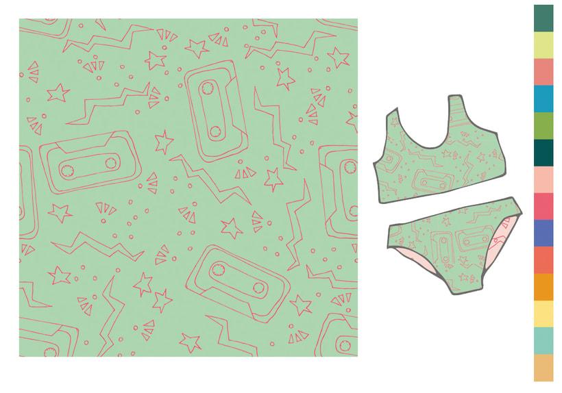 Colección estampados para ropa de niños 11