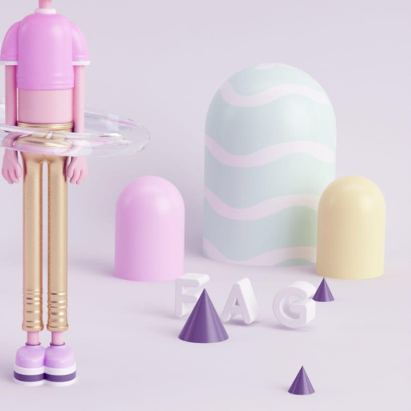 FAG Mi Proyecto del curso: Diseño de personajes en 3D 1