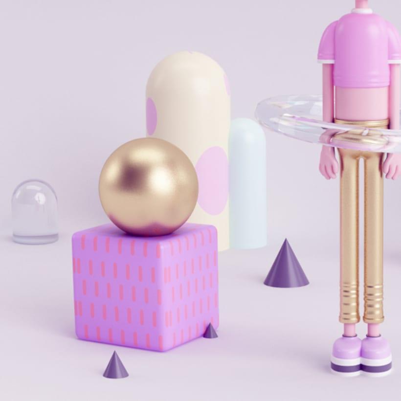FAG Mi Proyecto del curso: Diseño de personajes en 3D 2