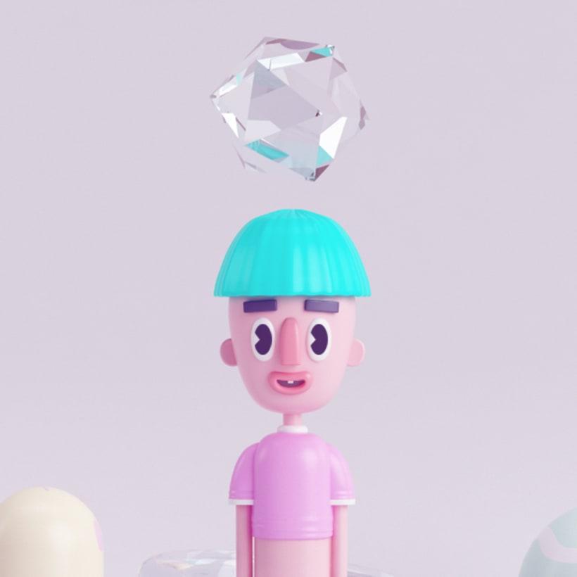 FAG Mi Proyecto del curso: Diseño de personajes en 3D 3