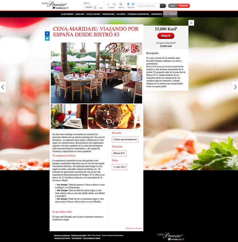 Organización, campaña y Community management de cena-maridaje con Aeroméxico 1