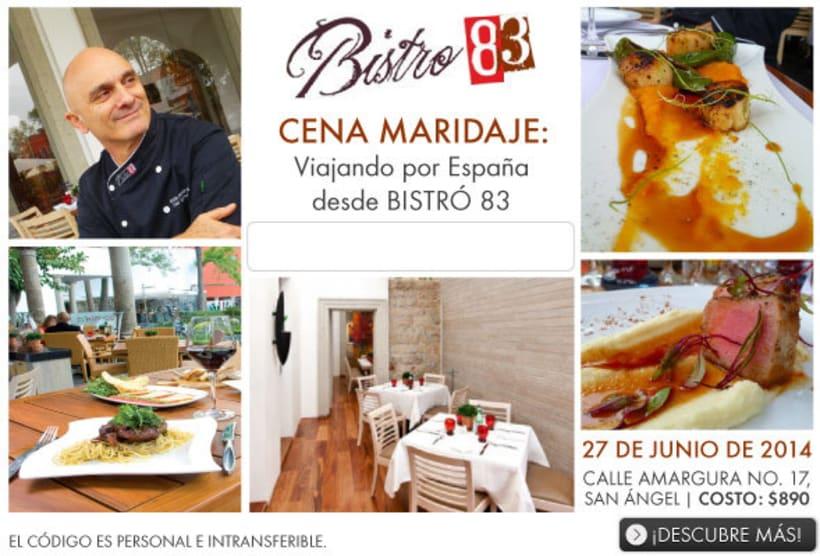 Organización, campaña y Community management de cena-maridaje con Aeroméxico 2