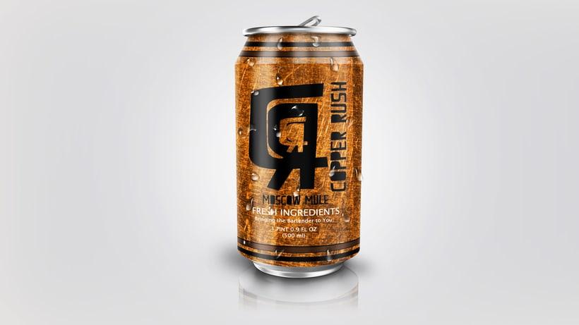 Diseño de bebida. 0